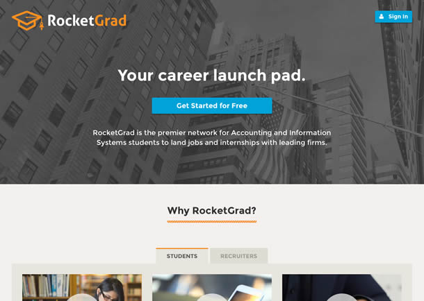 RocketGrad Screenshot